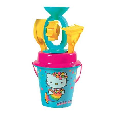 Androni bucket and mill sand set, Hello Kitty