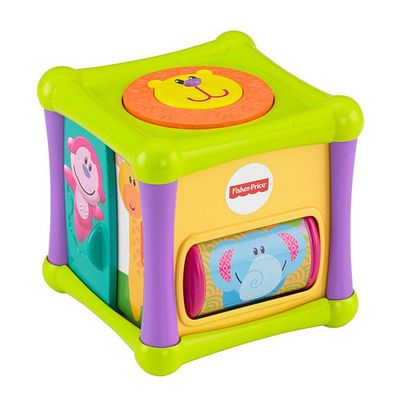 Fisher Price activity cube, animals