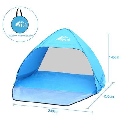 Pop-up beach tent