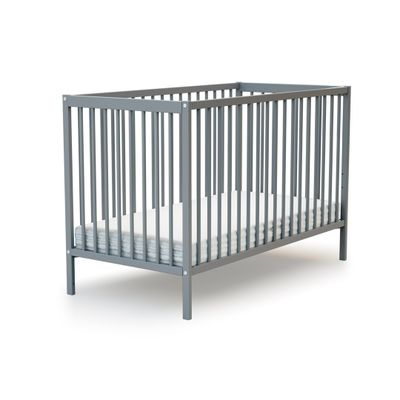 Full-size wooden folding crib